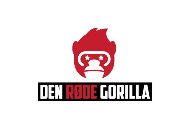Den Røde Gorilla Logo