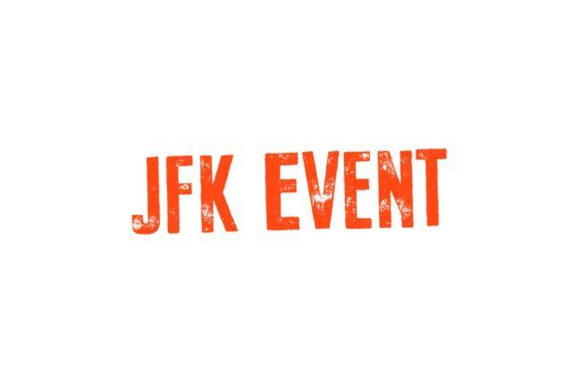 Daniel Vållberg Swedish Voice Over partner JFK Event